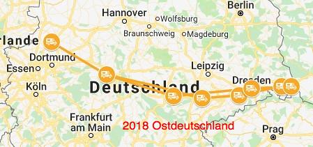 2018 Ostdeutschland