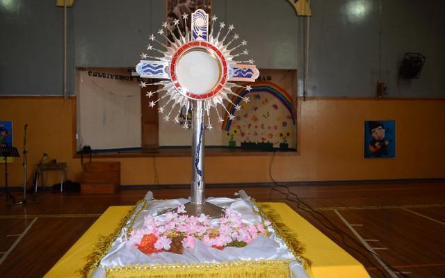 Cristo Peregrino llega al ISV