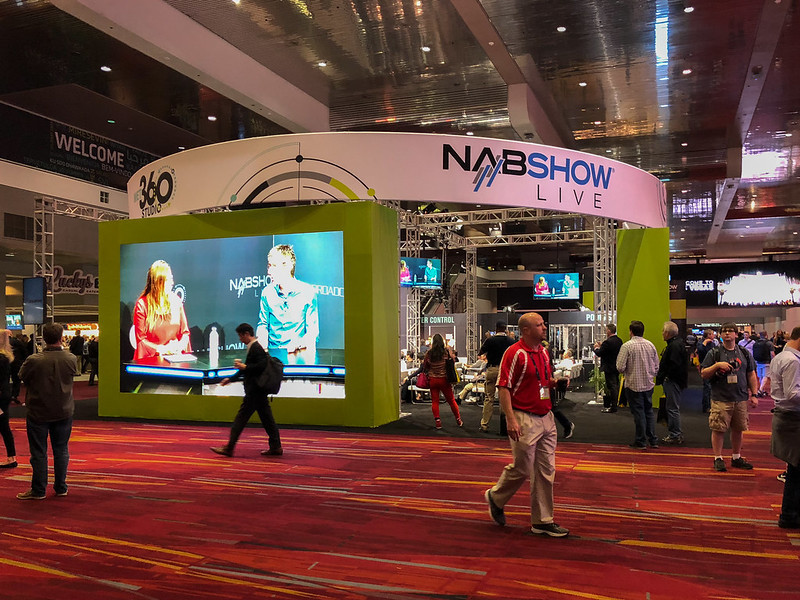 NABShow Live / Podcast area