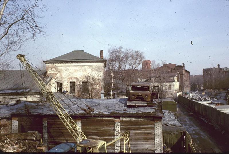 Москва в 1971-1974 годах