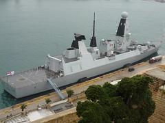 HMS Diamond Malta 11th Nov 2018