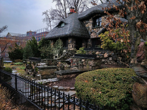 Gingerbread house in Brooklyn, New York