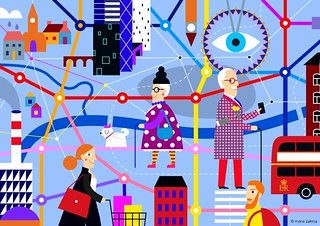 Maria Zaikina, Londoners, for UCL https://www.ucl.ac.uk/bartlett/casa/research/current-projects/agecogcity-how-does-visual-perception-shape-our-cities | by suzy_yes