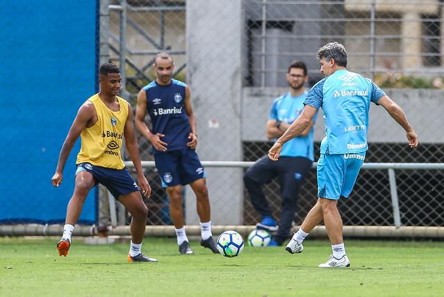 Treino Grêmio 17/11/18