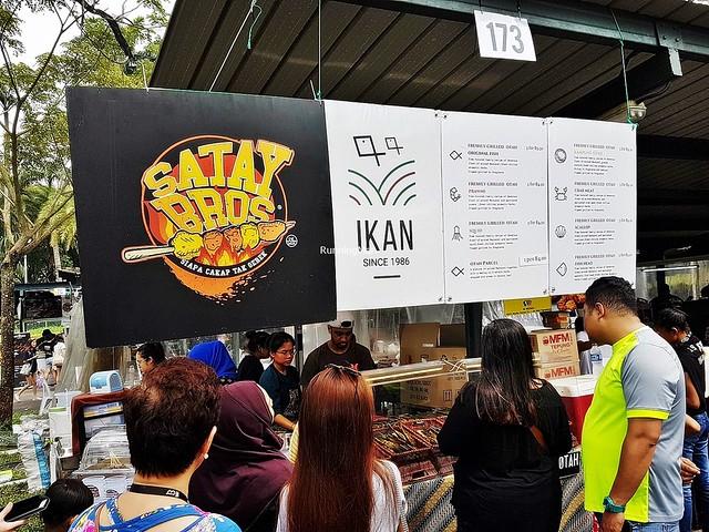 Stall 173 - Satay Bros Facade