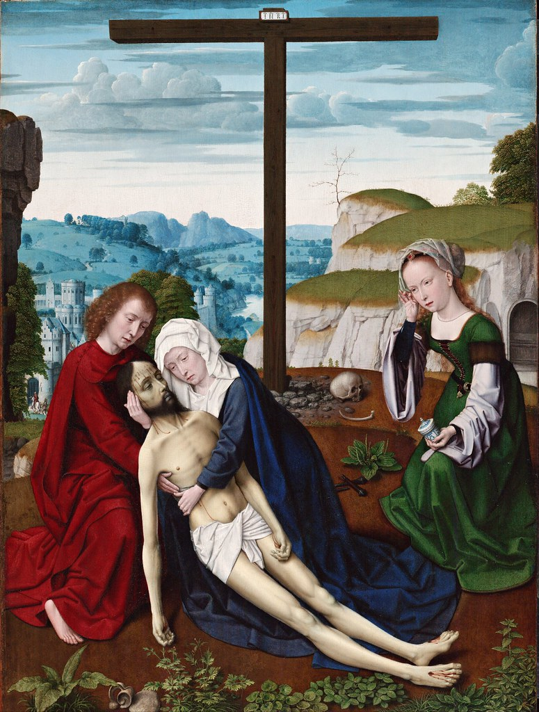 Gerard David - Lamentation (c.1515)