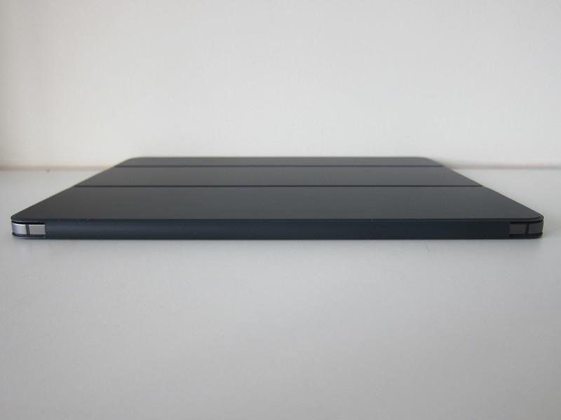 Apple iPad Pro 12.9-inch (3rd Generation) Smart Folio (Charcoal Grey) - With iPad Pro - Left