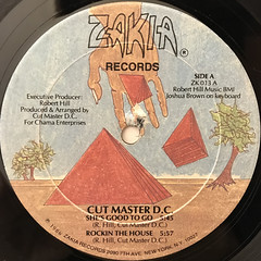 CUT MASTER D.C.:SHE'S GOOD TO GO(LABEL SIDE-A)