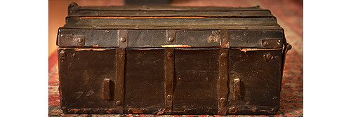 Medieval Book Chest
