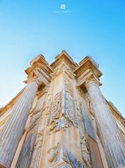 theatre Culomns,Leptis Magna