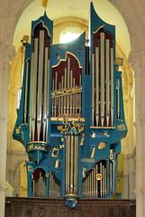 Saulieu : orgue de la basilique Saint-Andoche
