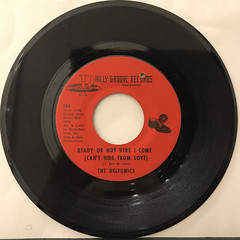 THE DELFONICS:READY OR NOT HERE I COME(CAN'T HIDE FROM LOVE)(RECORD SIDE-A)