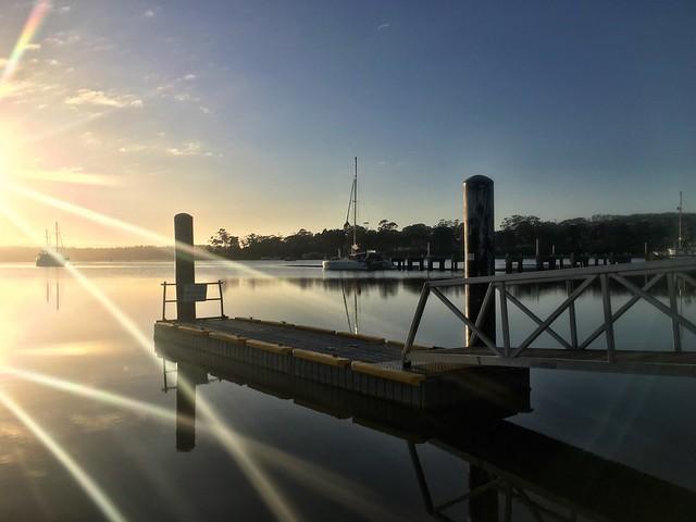Sunburst. St Helens. Tasmania