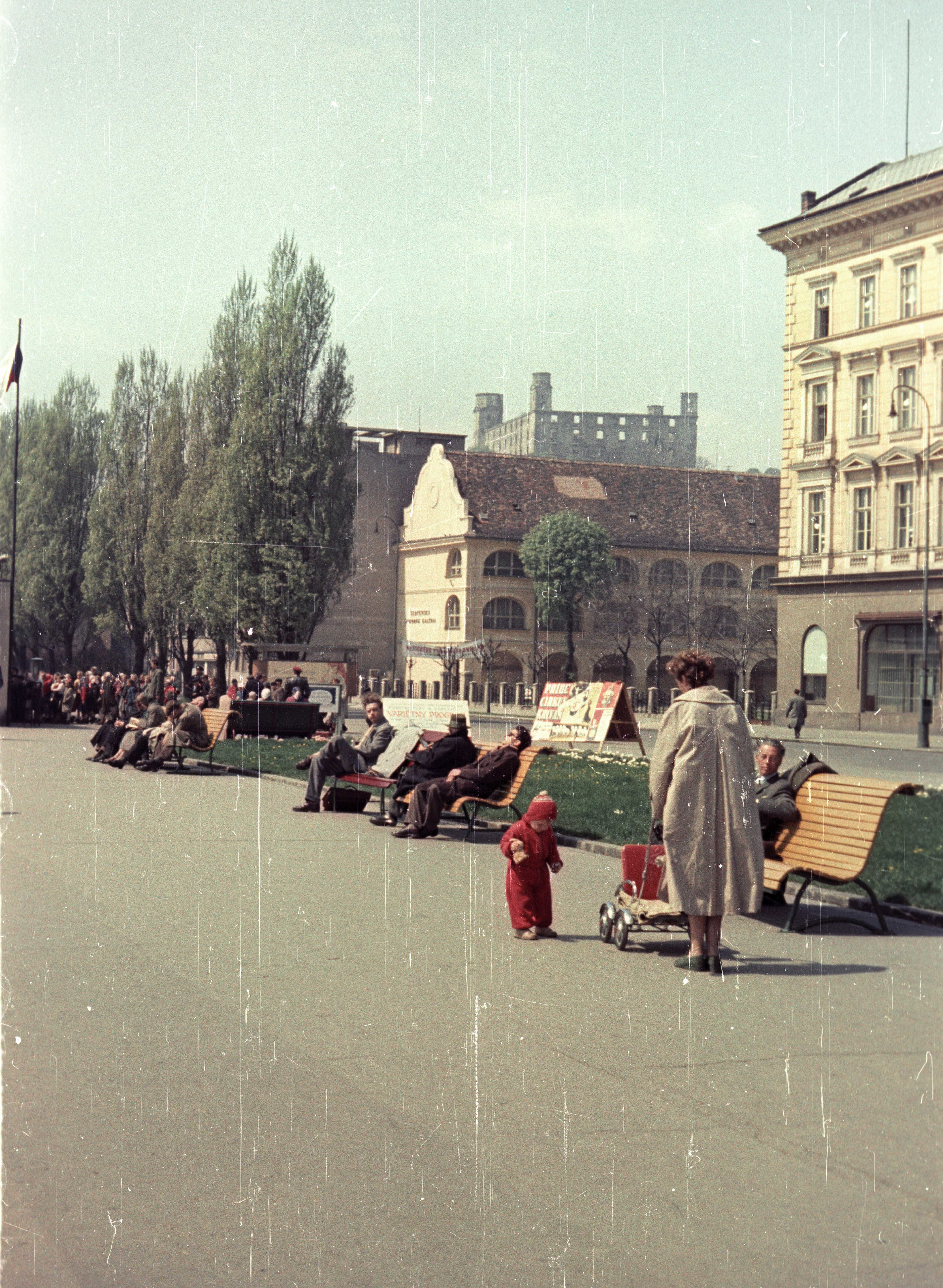 Братислава. Дунайская набережная Разусова