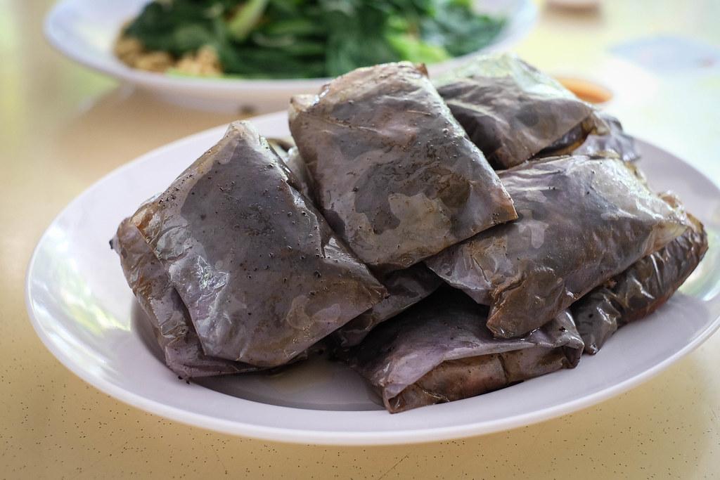 Stacks of Chee Pow Kai
