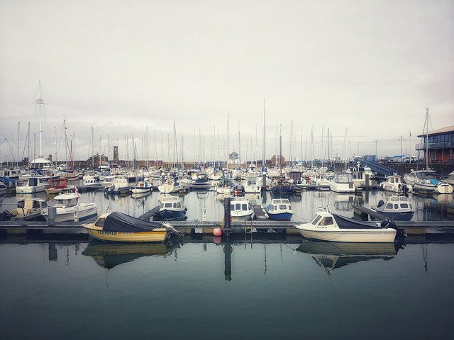 21/365 A Cold Morning At Whitehaven Harbour