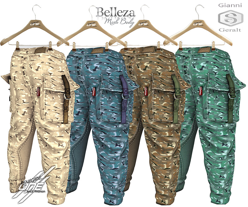 DQ…Camo (double) FATPACK