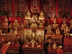 Tibetan temple room at the Sackler Museum in Washington, DC.