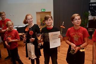 Habo Small Band - vinnare i Minibrassdivisionen