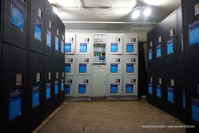 HI Washington DC Hostel Locker Area