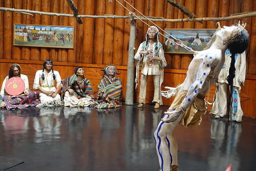 Banff Buffalo Nations Luxton Museum Sun Dance Ceremony. From History Comes Alive in Banff National Park