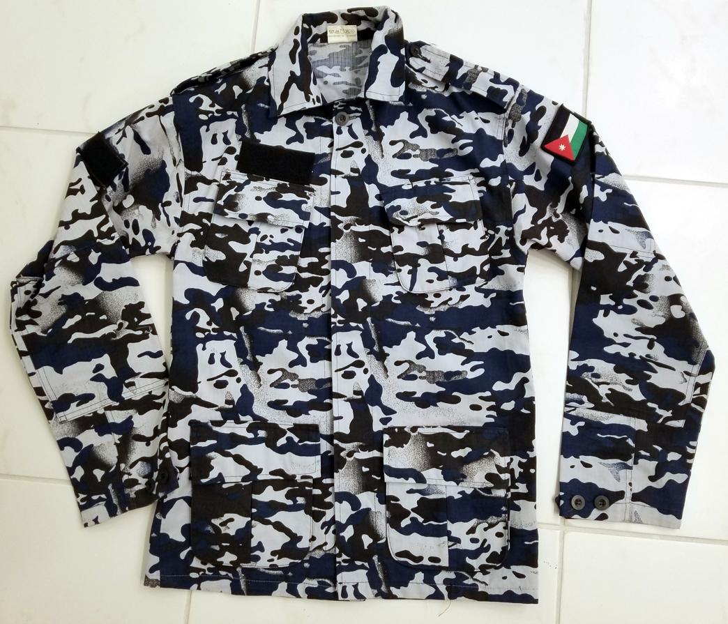 Jordan - Public Security Directorate (PSD) Camouflage Uniform 31351322997_d995546ccb_o