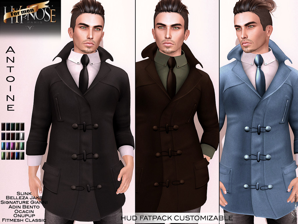 HYPNOSE MEN – ANTOINE COAT