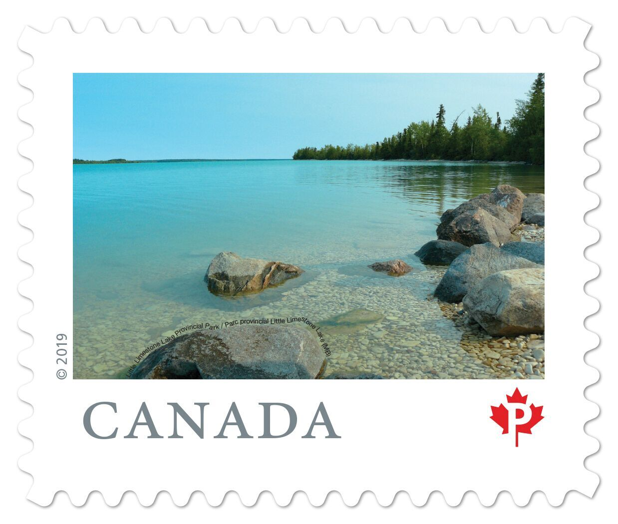 Canada - From Far and Wide (January 14, 2019) Little Limestone Lake Provincial Park, Manitoba (domestic P rate from booklet of 10)