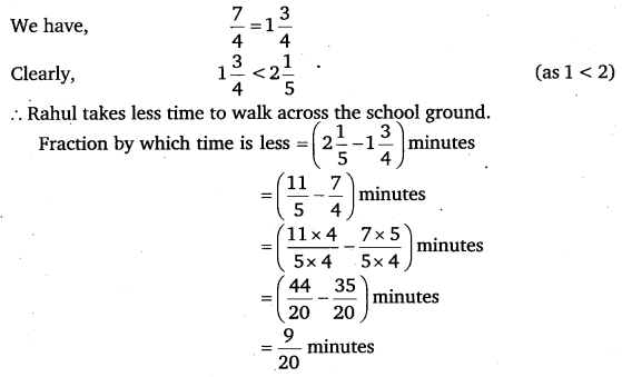 NCERT Solutions for Class 6 Maths Chapter 7 Fractions 92