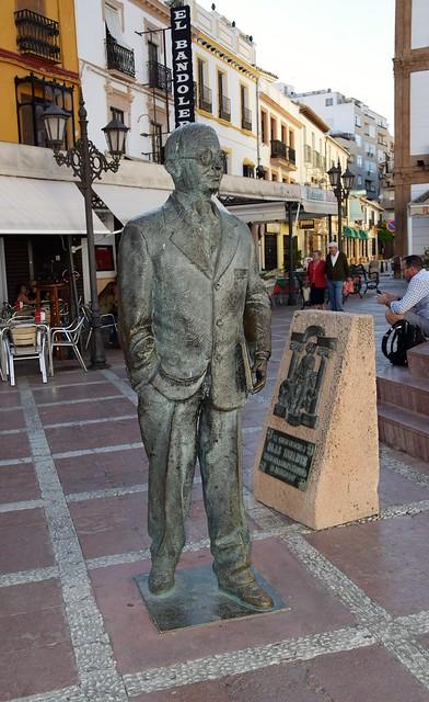 Blas Infante (Ronda, Andalucía, España, 14-6-2018)
