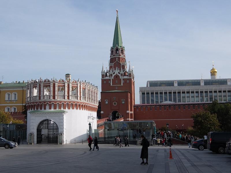Москва - Кутафья башня