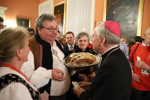 Spotkanie opłatkowe Caritas   Abp Marek Jędraszewski, 11.01.2019