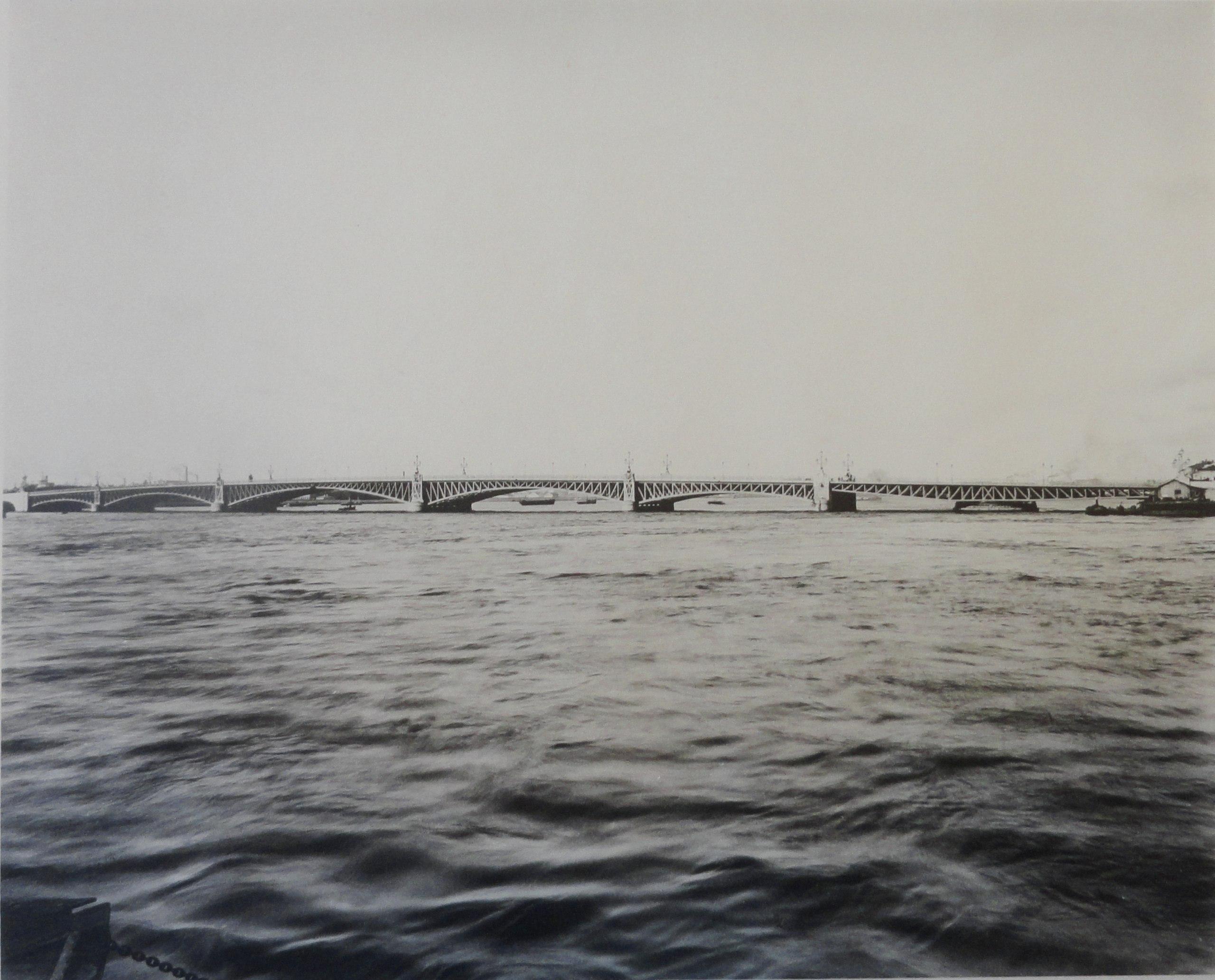 1903. Троицкий мост. Общий вид. 14 мая
