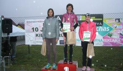 Deset jarních kilometrů vyhráli Zimola a Stružková