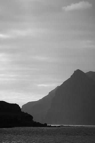 faroeislands fo travel roadtrip explore goexplore travelphotography landscape landscapephotography nature natural rawnature adventuretravel traveling exploring naturalworld island seaside islands atlantic coastal fjord fjords wild sunset lastlight eveninglight endofday dusk cliff cliffs cliffface sony sonyalpha a7rii alexberger virtualwayfarer blackandwhite blackandwhtiephotography