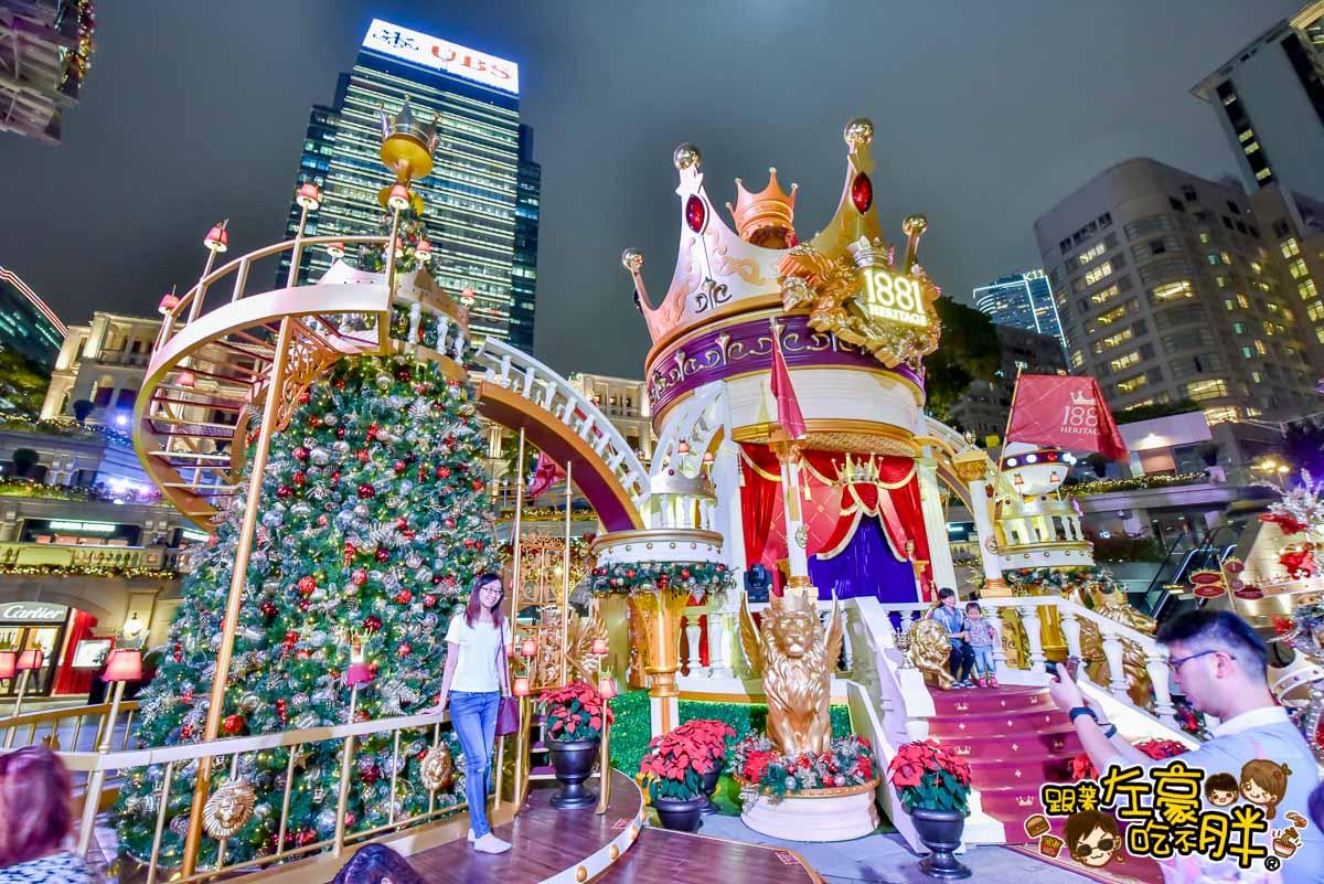 香港聖誕節 尖沙咀海港城聖誕裝飾-56