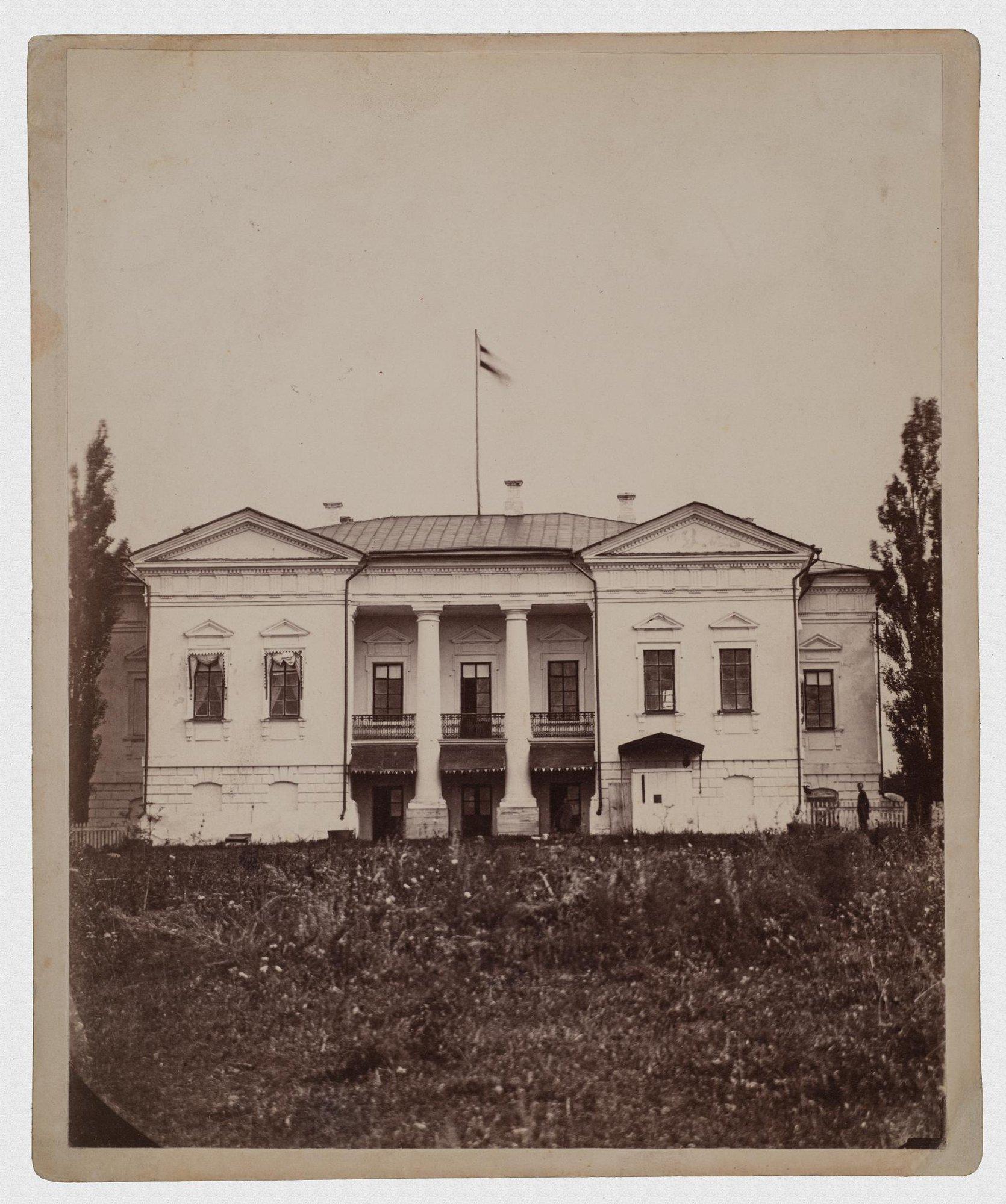 1860-е. Усадьба Уты. Вид усадебного дома