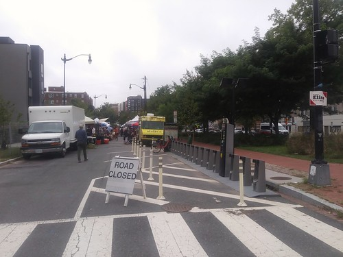 Blocking of the 3800 block of 9th Street NW for the Petworth Farmers Market