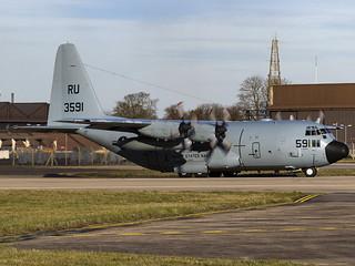 United States Navy   Lockheed C-130T Hercules   163591