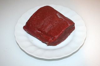 05 - Zutat Rinderfilet / Ingredient beef sirloin filet