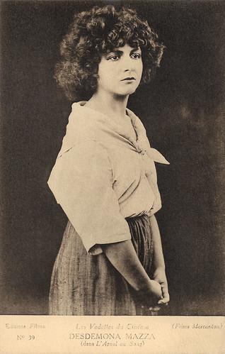 Desdemona Mazza in L'appel du sang (1921)