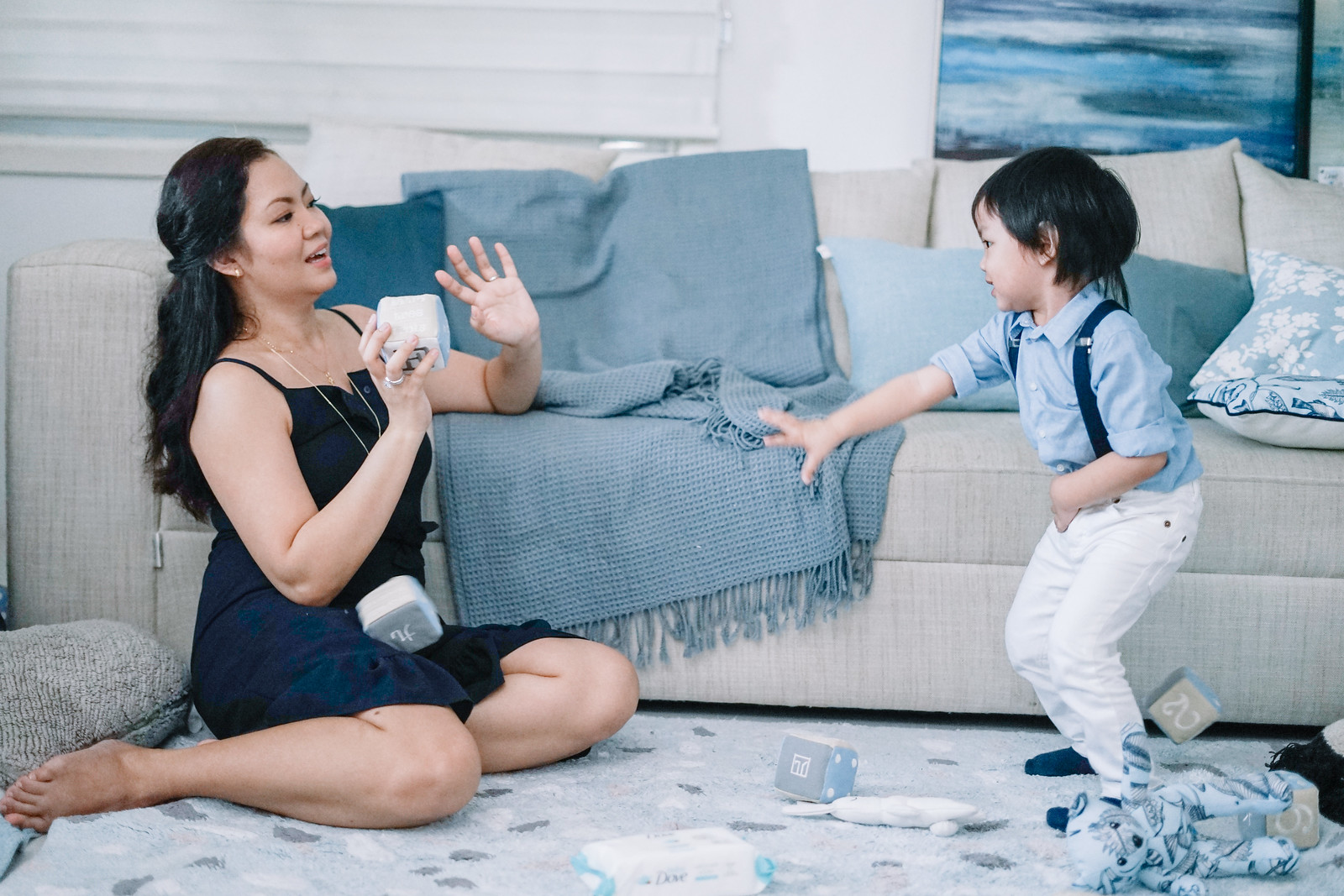 Jaycelle & Bryce for Baby Dove