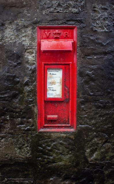 VR Wall Box, Kinburn, St Andrews