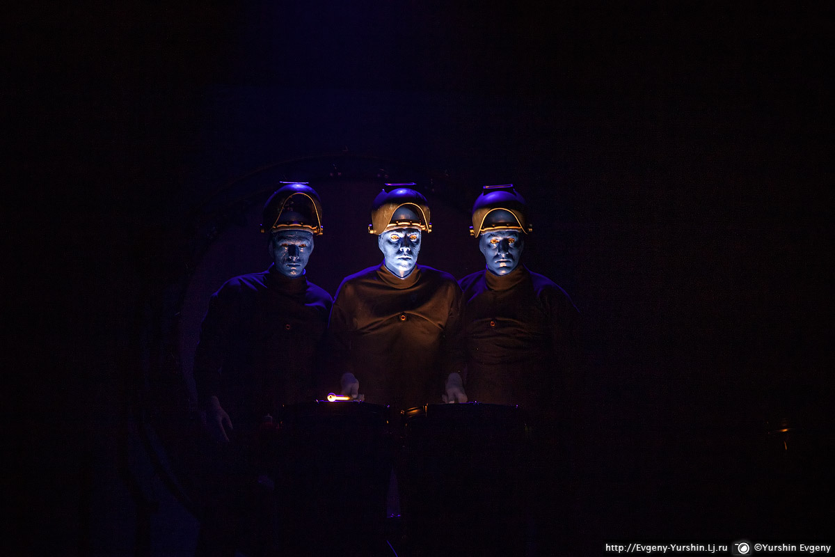 BLUE MAN GROUP в России
