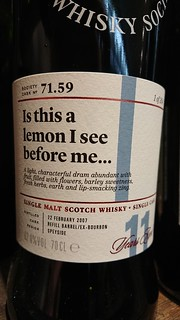 SMWS 71.59 - Is this a lemon I see before me...