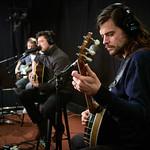 Thu, 13/12/2018 - 12:52pm - Mumford & Sons Live in Studio A, 12.13.18 Photographer: Gus Philippas