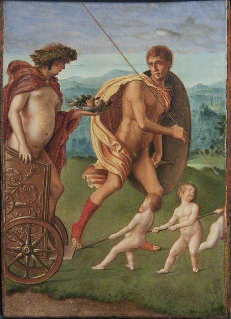 Allegorie Giovanni Bellini, 1434(39)-1516, Andrea Previtali, 1470(80)-1528