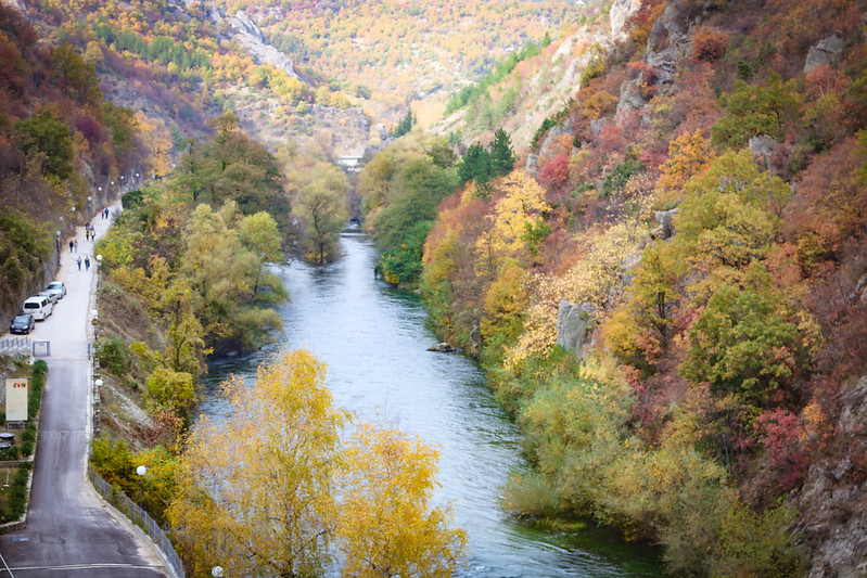 Matka Canyon, Macédoine