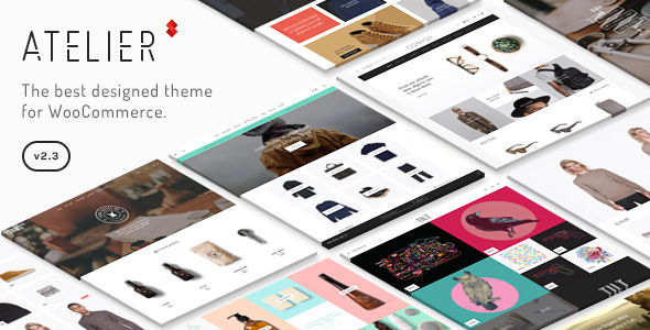 Atelier v2.6.16 - Creative Multi-Purpose eCommerce Theme