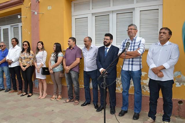 Prefeitura realiza ato cívico-político pelos 135 anos de emancipação de Aurora